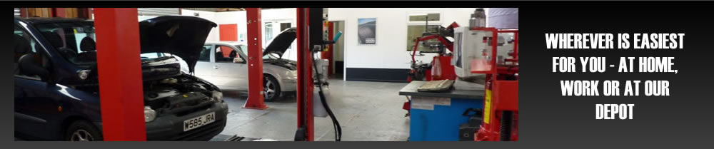 Brakes, Servicing, Repairs & M.O.T preparation - Northants Mobile Tyres Fitting Service